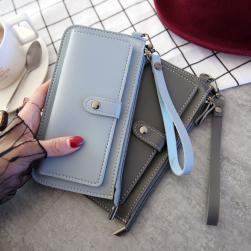 Ukawaii完売必至ファッション定番オールシーズン手持ちファスナー財布
