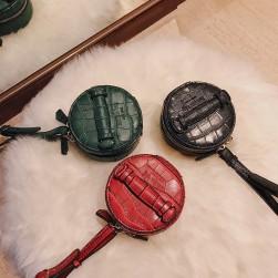 Ukawaii人気爆発中無地シンプル切り替え手持ちファスナー財布
