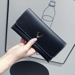 Ukawaii韓国系シンプル無地手持ち財布