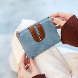 Ukawaii格安ファッションプリントマグネット手持ち財布