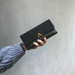 Ukawaii大活躍レトロ無地マグネット手持ち財布