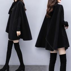 Ukawaii新作ファッションルースフェミニンナイロンポンチョコート
