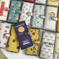 Ukawaii韓国ファッションカートゥーン二つ折り財布