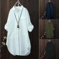 Ukawaii売り切れ必至 薄目 長袖 折り襟 無地 森ガール アウター