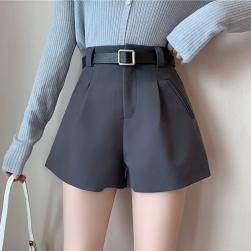 Ukawaii学園風 ファッション 若見え 合わせやすい Aライン ショートパンツ