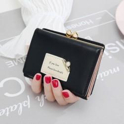 Ukawaii大活躍 OL/通勤 エレガント スウィート 韓国ファッション 手持ち ファスナー 財布