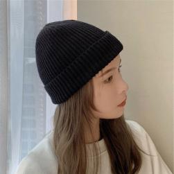 Ukawaii暖かい 冬物 レディース 新作 無地 合わせやすい ニット 帽子
