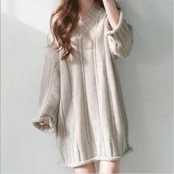 【お一人様 一点限り】Ukawaiiゆったり 新作 レディース ファッション 無地 セーター