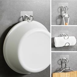 Ukawaii 人気爆発 シャワールーム 洗面所 お手洗い 壁掛け 強力接着剤 収納フック