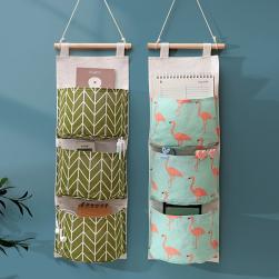 Ukawaii 最安挑戦 シンプル ファッション プリント 家庭用 壁掛け 収納ポケット