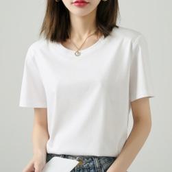 Ukawaii 全8色 絶対欲しい ラウンドネック 無地 ファッション 韓国系 半袖 Tシャツ