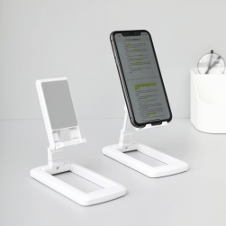 Ukawaii 絶対欲しい 全機種対応 ipad 90度回転 折りたたみ可能 シリコン卓上 万能 滑り止め スマホスタンド