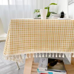 Ukawaii 可愛いデザイン シンプル チェック 防水 洗える 長持ち テーブルクロス