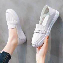 Ukawaii 韓国風ファッション丸トゥ柔らかい履きやすいスニーカーカジュアルシューズ
