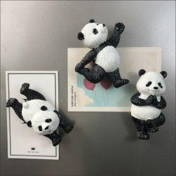 Ukawaii 人気沸騰 可愛い パンダ 家庭用 冷蔵庫用 磁気ペースト マグネット