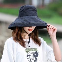 Ukawaii【6色展開】折りたたみ可 人気アイテム 大活躍中 無地 UVカット シンプル 帽子