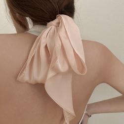 Ukawaii 柔らかくて優しい印象 合わせやすい 無地 全6色 スカーフ ヘアアクセサリー