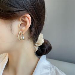 Ukawaii 女らしい おしゃれ 人気 気質満点 真珠 耳飾り ピアス