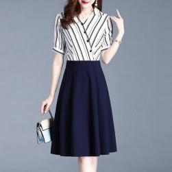 Ukawaii 超人気 通勤 合わせやすい ファッション 切り替え ストラップ デートワンピース