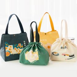 Ukawaii 絶対可愛い プリント 多機能 お弁当袋 お弁当バッグ
