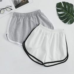 Ukawaii 韓国風ファッション カジュアル スポーツ ゆったり ヨガ 合わせやすい ショートパンツ