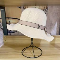 Ukawaii 柔らかくて優しい印象 スウィート 透かし彫り リボン サークル 编み地 帽子