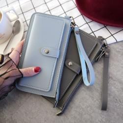 Ukawaii 完売必至ファッション定番オールシーズン手持ちファスナー財布