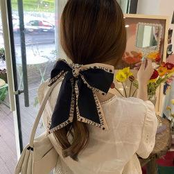 Ukawaii かわいい 韓国風 おしゃれ 真珠 蝶結びデザイン ヘアクリップ 髪飾り ヘアゴム
