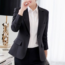 Ukawaii 激安ファッション無地ラウンドカラー長袖OL/フォーマルワンピース