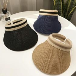 Ukawaii ファッション透かし彫り草編みダメージ加工帽子