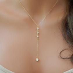 Ukawaii 美人度アップ 高品質 シンプル ネックレス