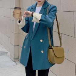 Ukawaii 欠かせない 若見え おしゃれ 配色 ダブルブレスト 通勤 合わせやすい スーツ